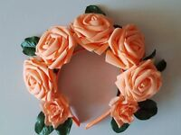 Head band flower crown accessories Halloween party wedding hen-party birthday hair