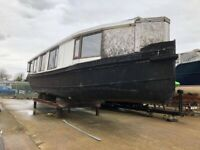 Houseboat for Completion - River Oak