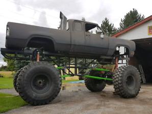 Cummins power wagon mega mud truck **price drop**