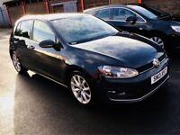 **2013+LATEST SHAPE** VW GOLF 2.0 GT TDI 150BHP + FULL VW SERV HISTRY + 1 CO-OWNR + SATNAV + MINTCAR