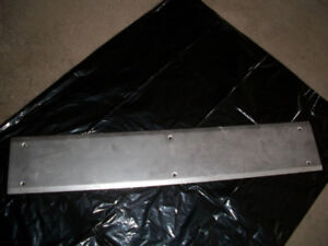 DOOR THRESHOLD PLATE