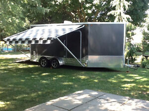 TOP QUALITY ALUMINUM ENCLOSED TRAILER NOW REDUCED!!!!