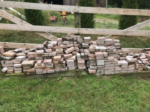 Interlock bricks.