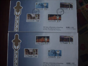 Special Collection of First Day Covers From Hong Kong
