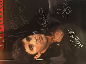 Scarface poster signed by cast with coa 24x36 West Island Greater Montréal image 8