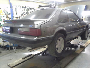 AC delete for foxbody mustang and serpentine belt