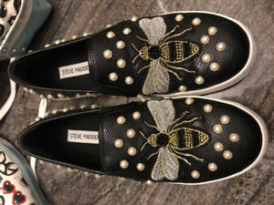 Steve Madden bumble bee shoes
