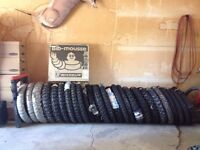New dirt bike tires