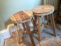 Pair of IKEA stools