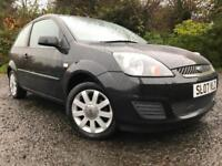 *3 MTHS WARRANTY*2007(07)FORD FIESTA 1.4 SILVER EDITION 3DR WITH ONLY 76K*