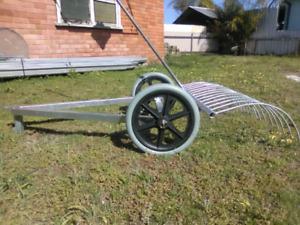 Stick Rake For Ride On Mower Gumtree Australia Free Local