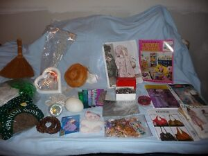 For Sale:  Assorted craft items