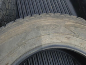2 tires for truck/SUV.
