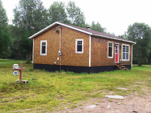 CAMP IN MOOSE COUNTRY, 1.69 ACRES, 3 BDRS, 1 BATH