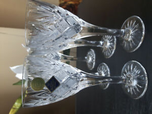 *BOHEMIA Crystal wine glasses