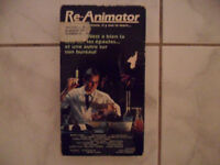 re-animator vhs version francaise