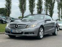2010 Mercedes-Benz E-CLASS 3.0 E350 CDI BLUEEFFICIENCY SE 2d 231 BHP Convertible