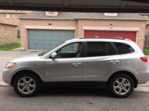2007 Hyundai santa fe GL V6 3.3L SUV, Leather seat