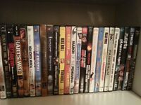 BLU RAYS AND DVDS $2.00