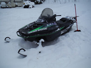 1997 580 arctic cat powder special