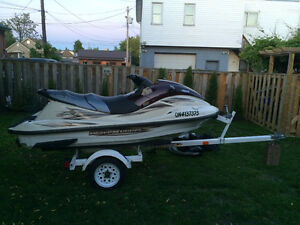 2000 yamaha xl 800 3 seater Low hours