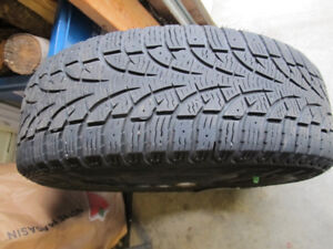 Perelli winter tires on rims