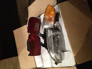 92-95 Honda Civic coupe Head lights and tail lights