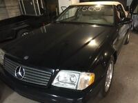 "2001 mercedes 500 SL  ""winter $$$ price"""