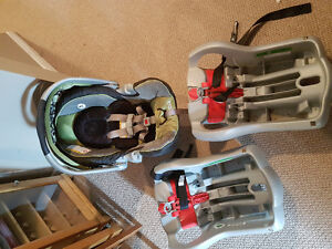 Graco infant carseat and 2 bases