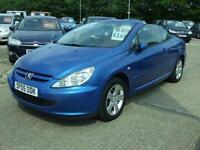 2005 Peugeot 307 Coupe Cabriolet Only 64K Miles!!! 1.6