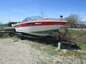FREE 24' BOAT WITH TRAILER