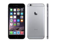 IPhone 6s space grey 64 gig EE network