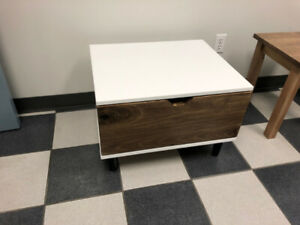Modern Night Stand with Removable Drawers