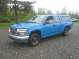 2008 GMC CANYON EX-CAB !! LOW KMS !! FRESH M.V.I. !!