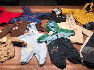 Toddler Outerwear - Jackets, Toques, Shoes! MINT