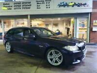 2014 64 BMW 5 SERIES 2.0 520D M SPORT TOURING 5D AUTO 188 BHP DIESEL
