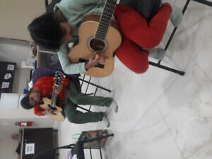 Guitar and keyboard lesson