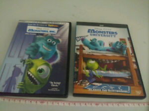 Monster Inc. and Monsters University