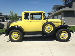 For Sale: 1929 Ford Delux Model A Coupe