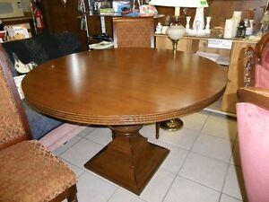 Beautiful large Round Table/ 4 matching chairs /two bar stools