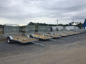 Amazing Prices On Galvanized Dump and Utility Trailers!