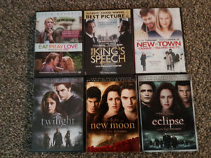 DVD's movies - variety of romance, family, action