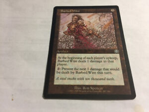 1999 BARBED WIRE #287 Magic The Gathering Mercadian Masques NM