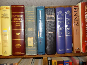 Bible Commentaries and Systematic Theology books Kitchener / Waterloo Kitchener Area image 3