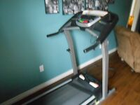 Treadmill...610 Tempo, 2.5 hp, electric incline and programs