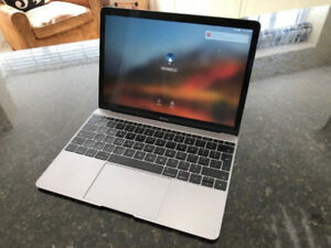MacBook 12-Inch Space Grey (hardly used)