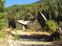 large 3 bedroom riverfront home with legal hydroelectric plant