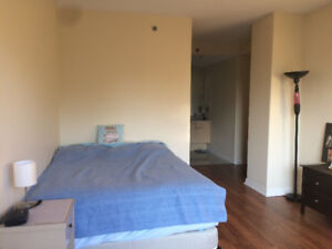 Room In 2 Bedroom Apartment Downtown For August Facilities Incl.