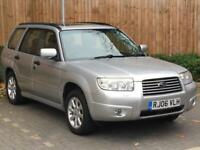 2006 '06' Subaru Forester 2.0 XE, 5 Door Estate, MPV, AWD, 4WD, Petrol.