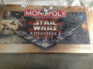 Star Wars Monopoly, Episode I Collector Edition, brand new